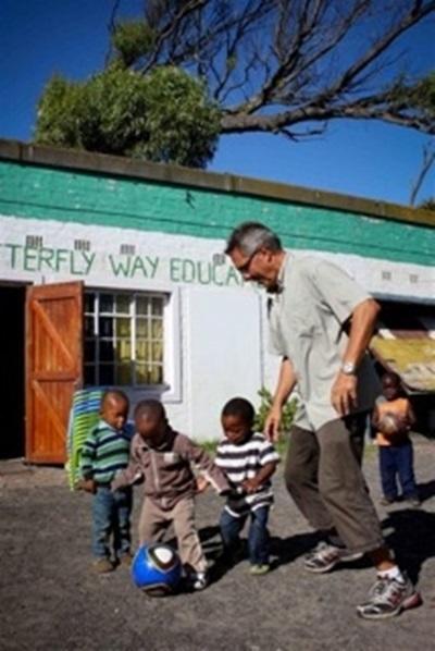 S'occuper d'enfants au Cap, Afrique du Sud