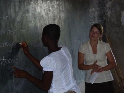 Enseignement, Togo par Rebecca Corrodi