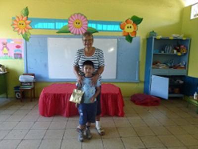 Romana, volontaire bénévole en Equateur