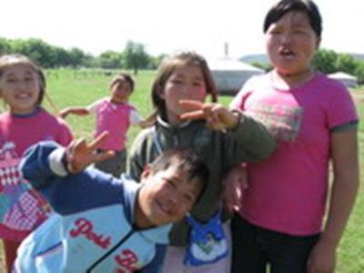Enfants de Mongolie- Sabrina Harter