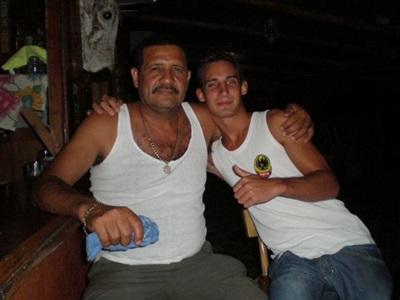 Simon en écovolontariat au costa Rica