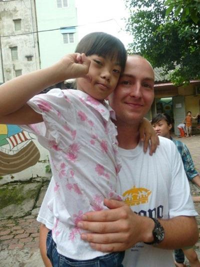 Mission humanitaire, Vietnam par Simon Mottier