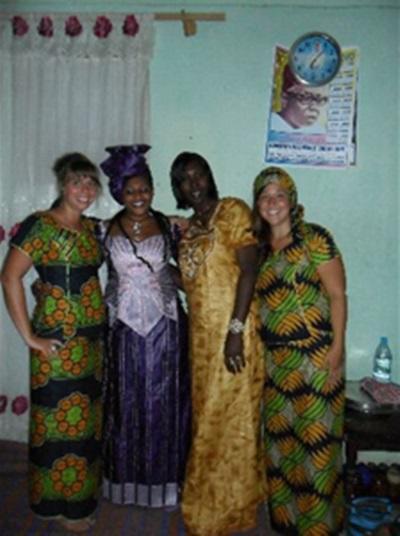 Sophie Burgeon, Journalisme, Sénégal