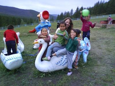 Sophie Kohli Mission Humanitaire Mongolie