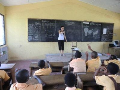 Mission humanitaire, Ghana par Stéphanie Chaumard
