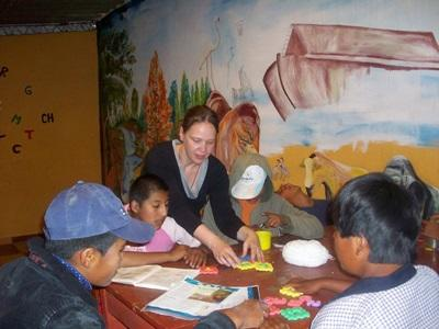 Missions humanitaires en Bolivie, Sylvie Allain
