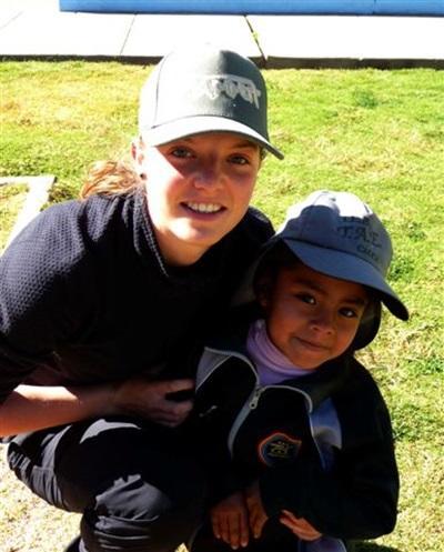 Sylvie en Encadrement sportif au Pérou