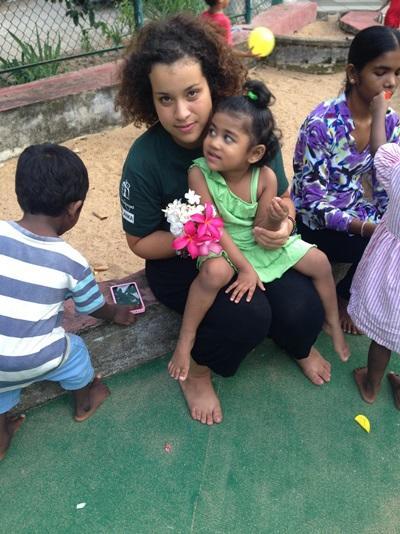 Volontaire humanitaire au Sri Lanka