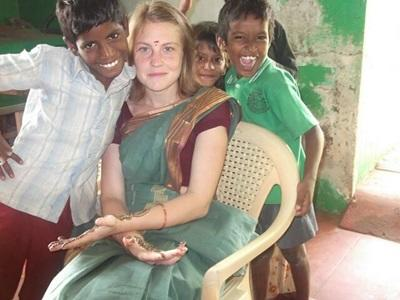 Mission humanitaire, Inde, par Virginie Bellier