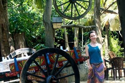 Virginie en mission humanitaire au Sri Lanka