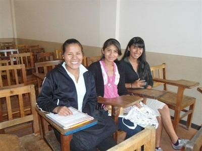 Enseignement, Bolivie par Virginie Thouvenin