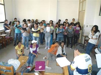 Enseignement, Bolivie par Virginie Thouvenin