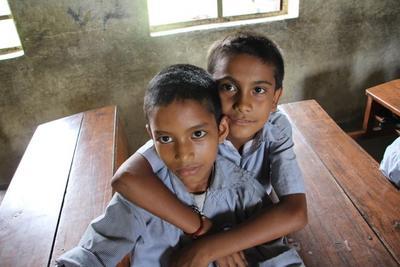 Bambini in Nepal