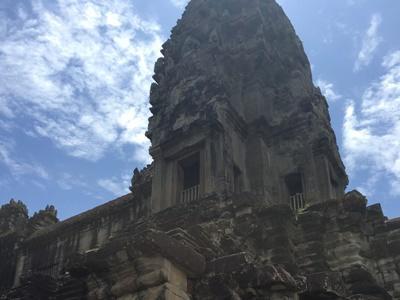 カンボジアの歴史を感じたアンコールワット
