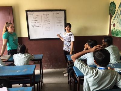 世界中の高校生と2週間のボランティア活動をしたネパール