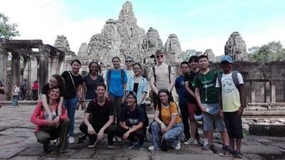 カンボジアでの高校生スペシャルで深まった世界中の高校生との絆