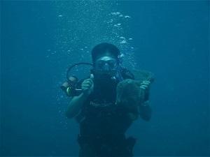 ダイビングによる海洋調査を行ったタイの環境保護プロジェクト