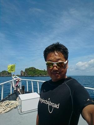 環境保護のために数多くの島を訪れて行った海洋調査