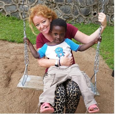 Voluntaria de Projects Abroad en Tanzania