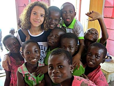 Sociaal project in Ghana