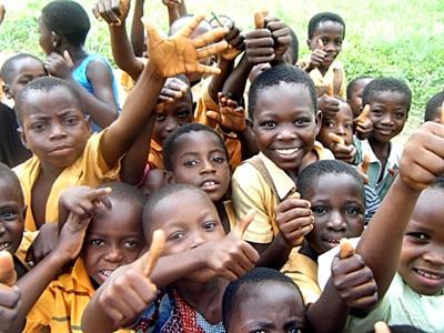 Amber Blaauboer in Ghana