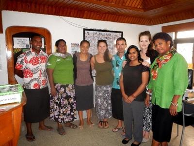 Sociaal project in Fiji