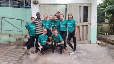 Antonia - Gezondheidszorg, Geneeskunde project, Ghana