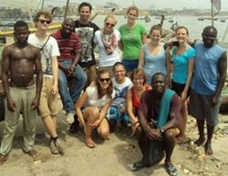 Gezondheidszorgproject in Ghana