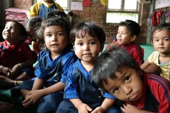 Sociaal project in Nepal