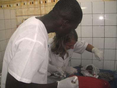 Gezondheidszorgproject in Togo door Camille Rombaut