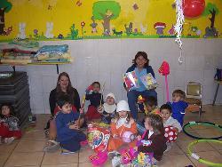Cadeautjes vrijwilligers project Mexico