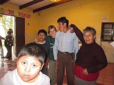 Sociaal werk in Bolivia