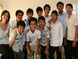 Lesgeven in Cambodja