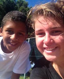 De ervaring van Florien Santing op het gymles project in Zuid-Afrika