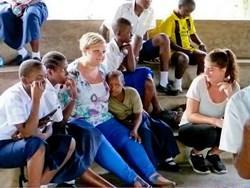 Inge Holtman in Tanzania