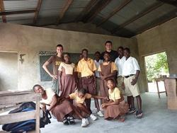Ivo heeft een lesgeef en medisch project in Ghana gedaan met Projects Abroad