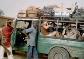 Jan in Ghana - lokaal vervoer