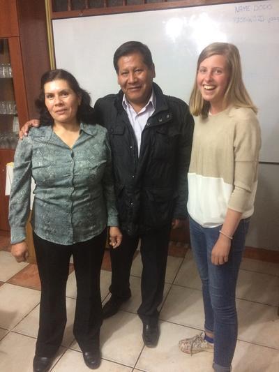 Joke Vandenbergh – Jongerenreis Sociaal & Samenleving in Peru