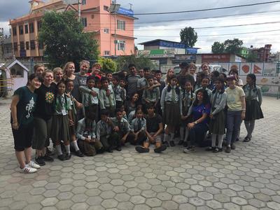 Katelijne Knockaert - Sociaal & Samenleving in Nepal