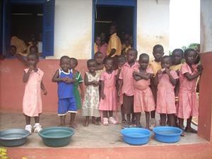 Katja Sondorp  -  Rechten project in Ghana