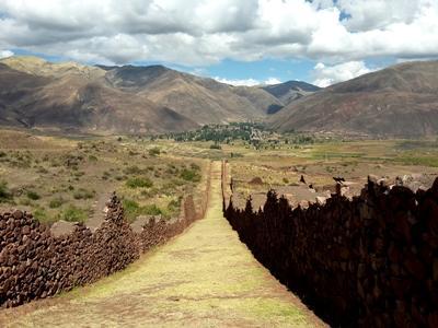 Marc Uitterhoeve in Peru
