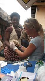 Marian Visser Public Health Project in Ghana