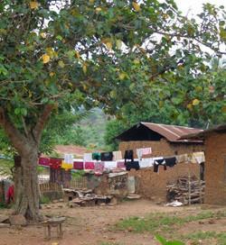 Maurane van der Moeren in Togo