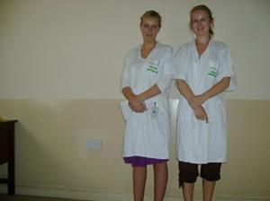 Ziekenhuis in Ghana