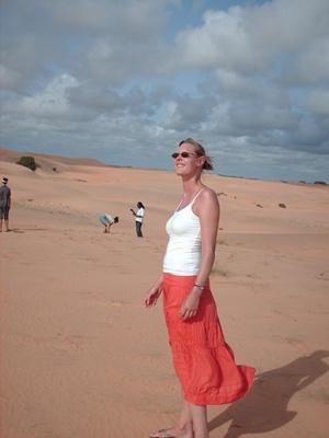 Nancy Dijkmans in Senegal