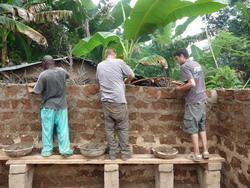 Bouwen in Ghana