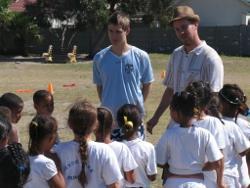 Sport project in Zuid-Afrika door Robert-Jan Welten