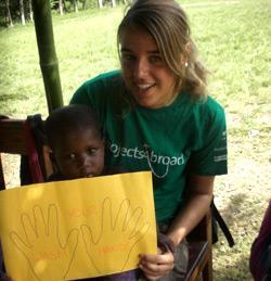 Medisch project in Ghana door Sanne Riepma