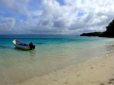 Een van de duiklocaties op het natuurbehoud project in Fiji