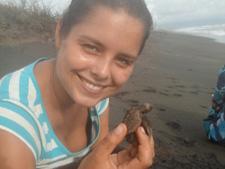 Agnieszka Jarosińska podczas Wolontariatu Ochrony środowiska w Meksyku z Projects Abroad